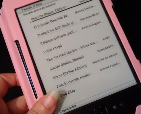 Kindle ebook reader recensione