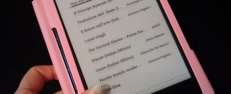 Kindle ebook reader recensione