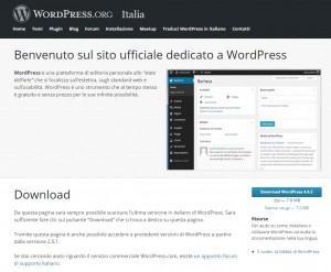 scaricare WordPress
