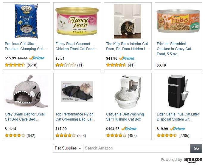 Amazon native ads