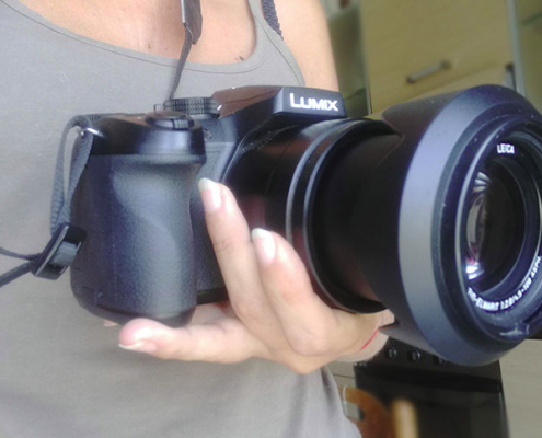 Fotocamera per fare video su YouTube Lumix dmc-fz300