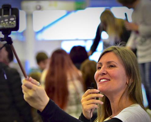 Il miglior bastone per selfie il mio selfie stick