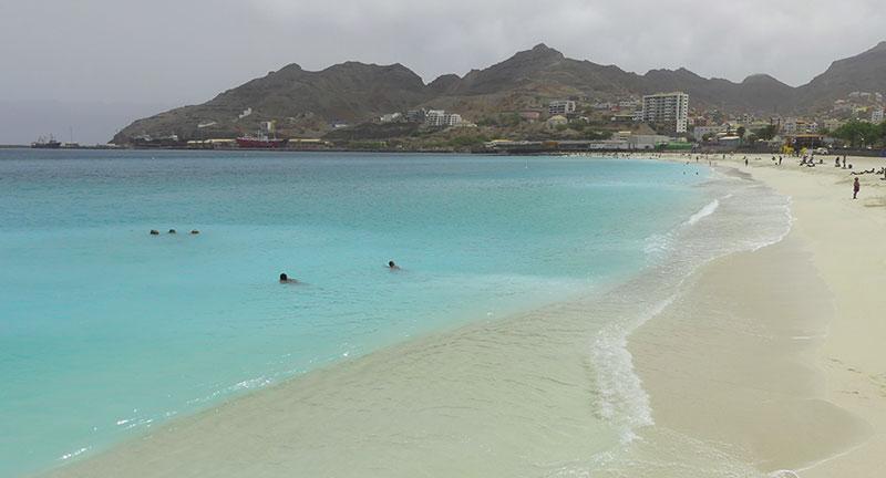 spiaggia di mindelo capo verde