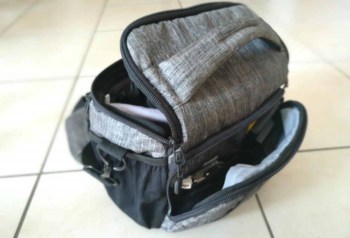 borsa tracolla macchina fotografica