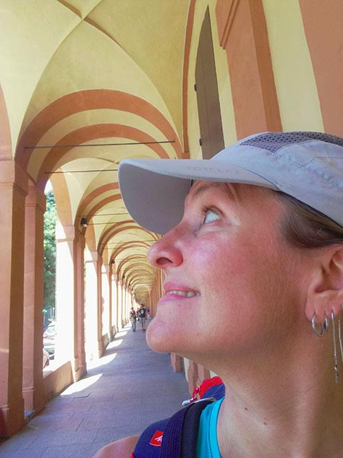 Portici di San Luca Bologna via Degli Dei