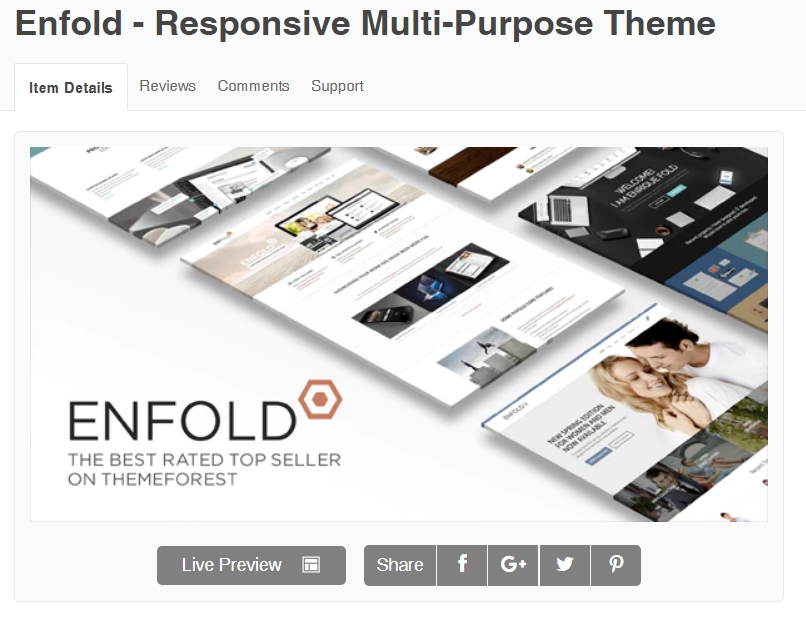 Tema Enfold WordPress