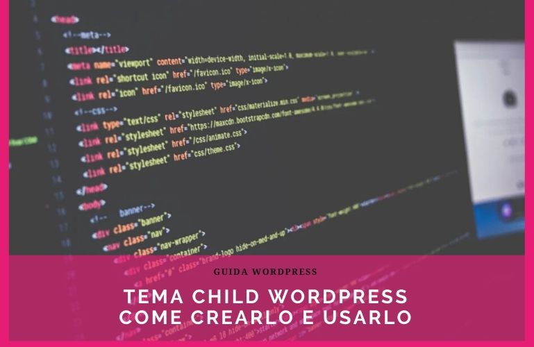 Tema child WordPress enfold cos'è e come crearlo