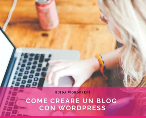 creare un blog su wordpress