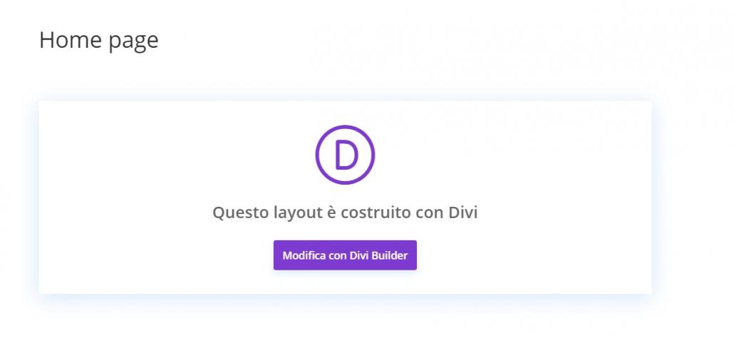 divi builder tutorial in italiano