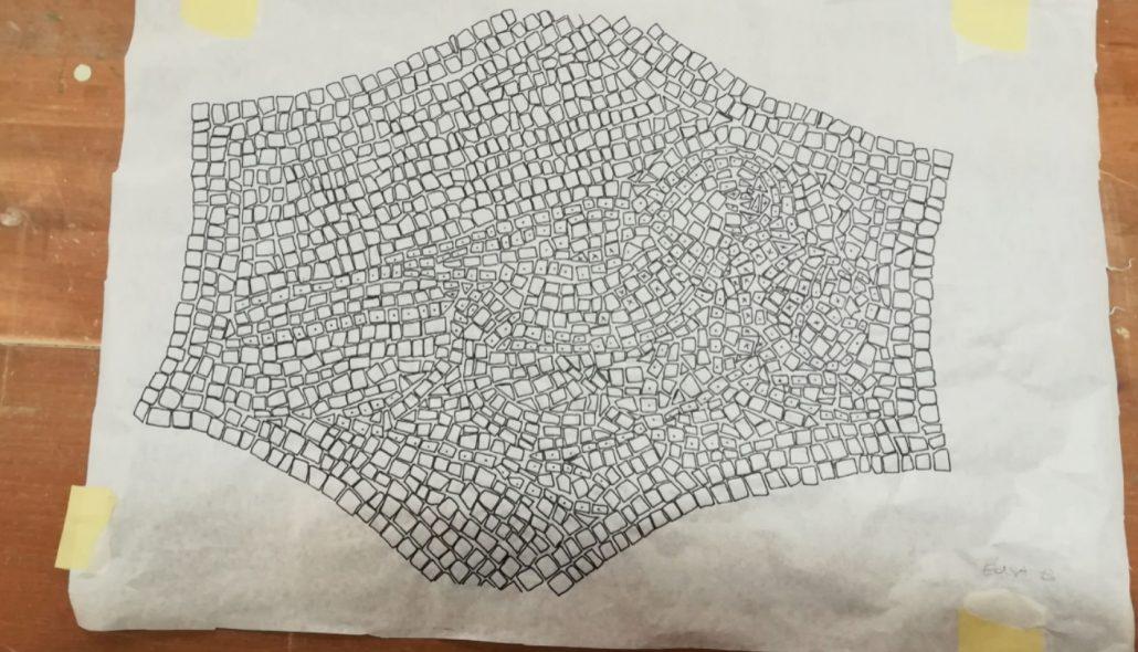 Preparazione del mosaico