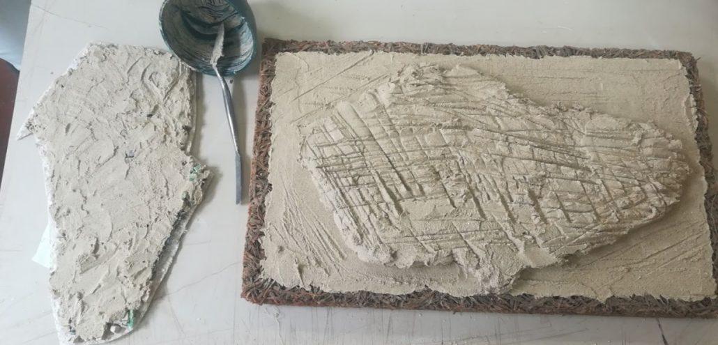 Base per il mosaico