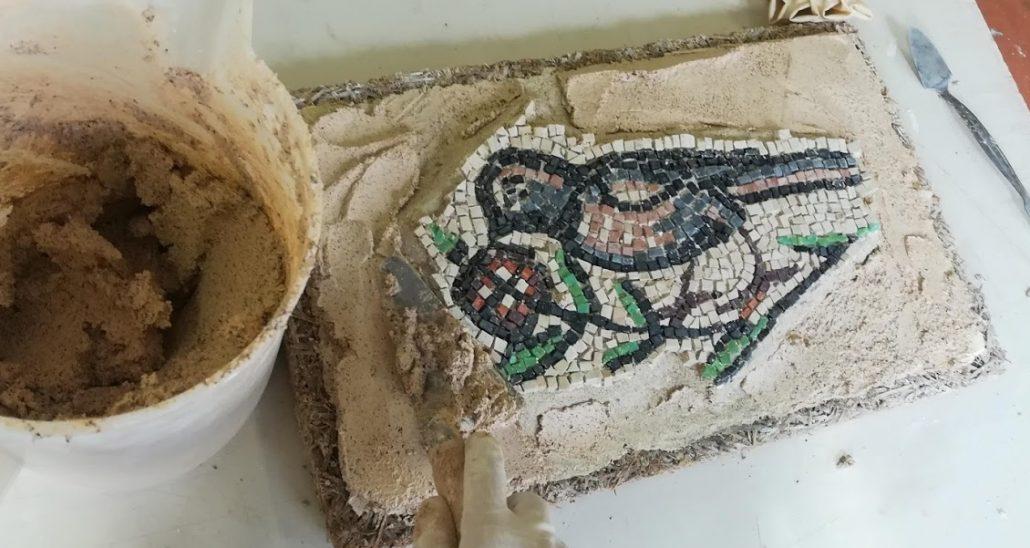 Supporto per un mosaico