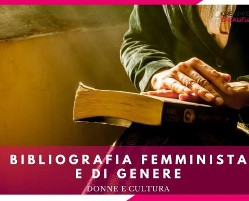 bibliografia femminista e libri sulle tematiche di genere